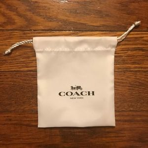 NEW Coach wallet dust bag pouch